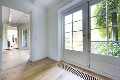 Lichte houten parket vloer
